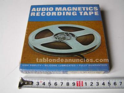 Cinta magnetica 42458 audio magnetics recording tape de magnetofon magnetofono