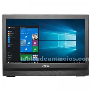 ORDENADOR ALL IN ONE (AIO) MSI PRO 16 FLEX N3160 4GB 500GB DOS 15 QUOT; TACTIL N