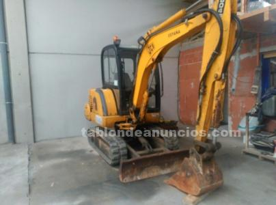 Jcb 8045 pala y martillo