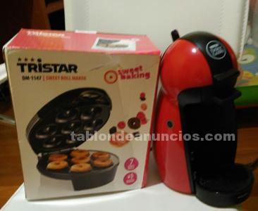 Vendo cafetera dolce gusto y rosquillera