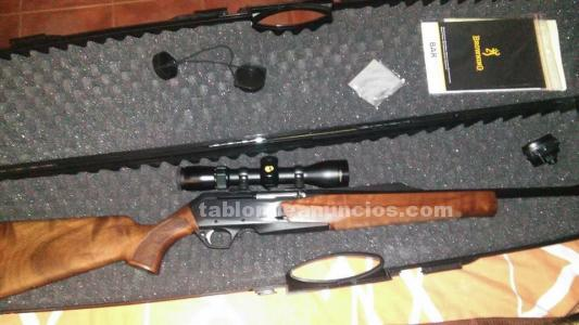 Browning bar mk3 hunted fluted a estrenar
