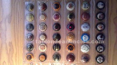 Colección de 324 placas chapas cava