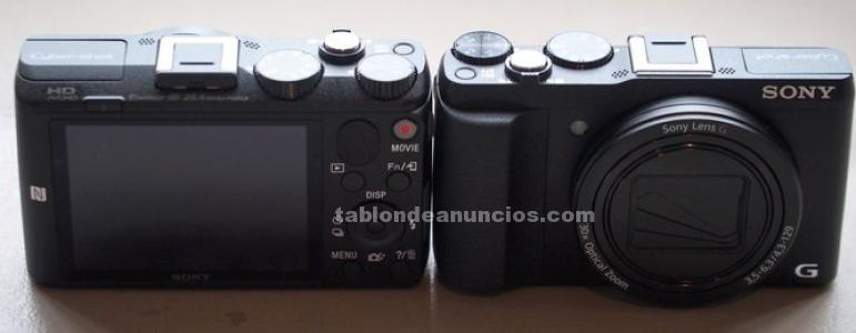 Sony cámara - sony cyber-shot dsc-hx60, negra, 20,4 mp, full hd