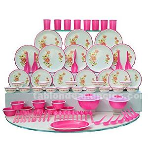 You can buy a microwave denso dinner set(24 pcs) from us.contact: 9409446595