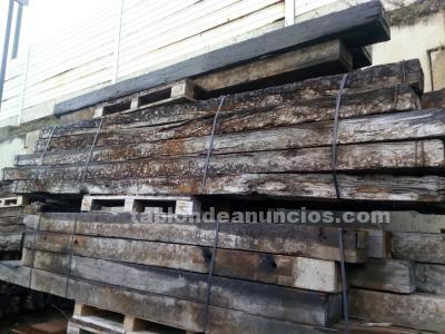 Traviesas madera