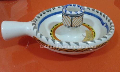 Palmatoria de porcelana