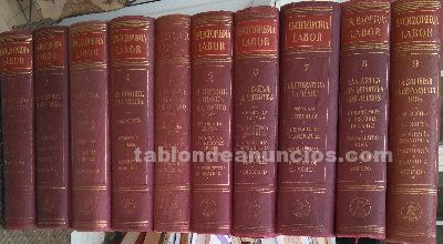 Enciclopedia labor (10 tomos) 1957