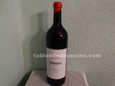 Botellón vacio de vino sonsierra-rioja