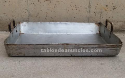 Bandeja aluminio 55x40x5cm