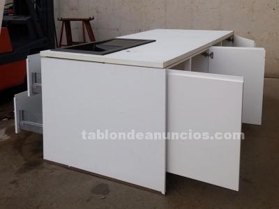 TABLÓN DE ANUNCIOS - Mueble encimera central cocina