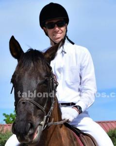 Técnico deportivo; clases de equitación y entrenamiento de caballares