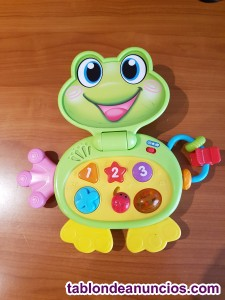 Jueguete de rana con luces y sonido por 5 euros