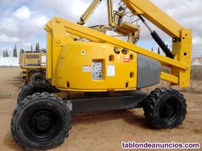 Elevador articulado diesel Haulotte HA 260 PX  4x4x4  año 2008