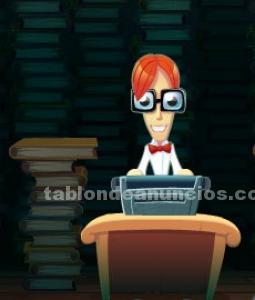 PASO, HAGO Y CORRIJO ESCRITOS, INFORMES A PC