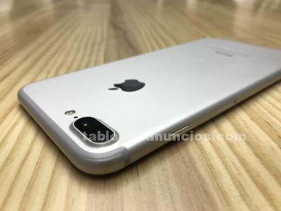 IPHONE 7 PLUS 128GB SILVER-GARANTÍA-BARATO
