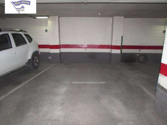 Parking best house vende plaza de garaje amplia en el