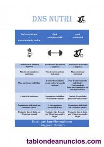 ENTRENADOR PERSONAL Y NUTRICIONISTA