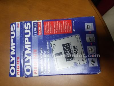 Olimpus camedia adaptador de discos flexibles