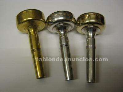TROMBON. 3 BOQUILLAS   AL CASS    NUEVAS