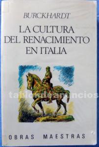 La cultura del renacimiento en italia.