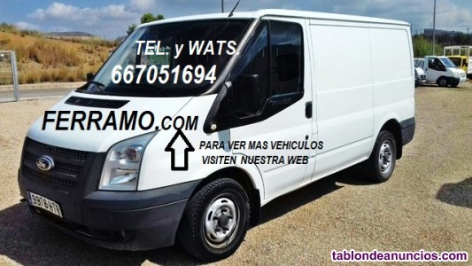 Ford Transit 2.2 TDCI 6 velocidades, año 2013