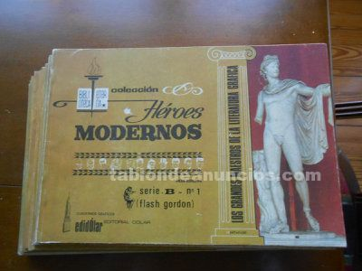 FLASH GORDON. Col. Héroes Modernos, Serie B. Completa