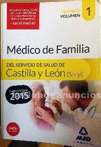 Libro oposiciones médico de familia. Volumen 1