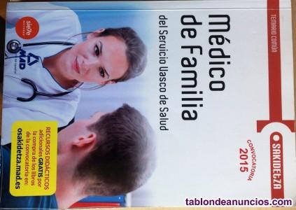 Libro oposiciones médico de familia.