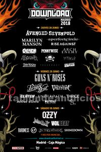 Abono download festival madrid 2018