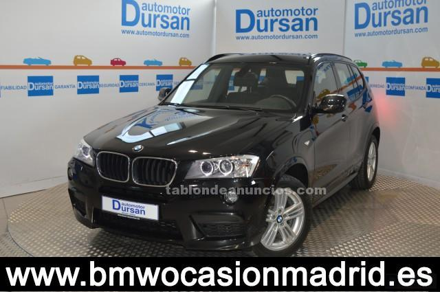 Vendo bmw x3 xdrive 2.0d * paquete m * xenon * navegación * head up display *