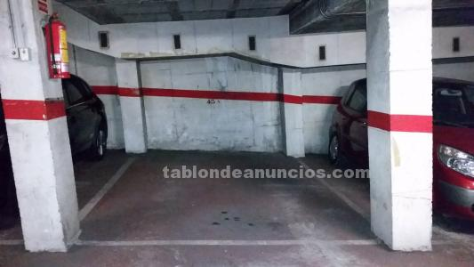 Vendo plaza parking