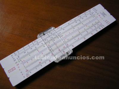 Regla de calculo aristo studio 868 calculadora slide rule