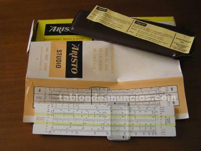 Calculadora aristo 868 completa regla de calculo slide rule