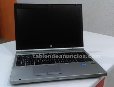 Portatil hewlett packard elitebook 8560p