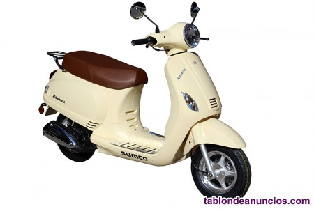 Scooter 125 Sumco Rommi desde 43,75€/MES
