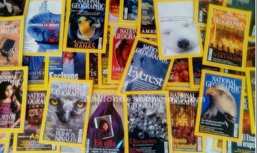 Revistas National Geopraphic