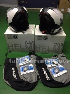 Cascos bmw system evo vi + intercomunicadores bmw