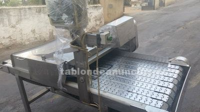 MÁQUINA cortadora de discos en acero