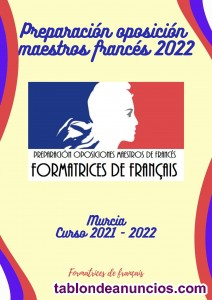 Preparadoras maestros francés 2019