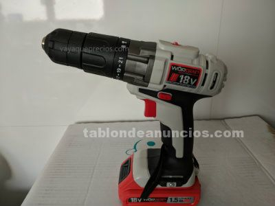 Taladro percutor litio 18v