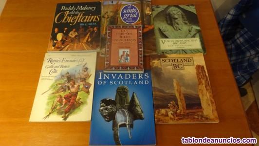 Libros celta, medieval, etc
