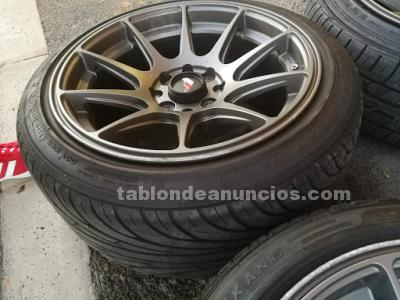 4 LLANTAS R15 JAPAN RACING JR11 EN 15*8