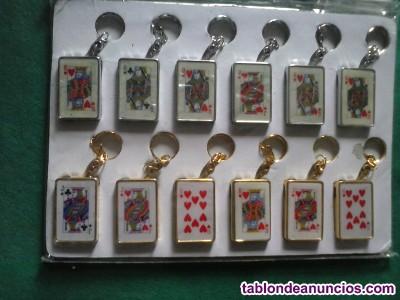 Llavero/Encendedor cartas