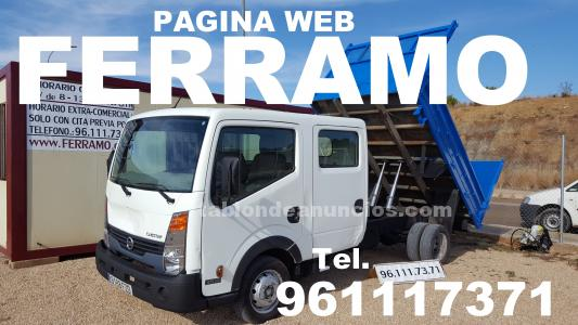 Nissan cabstar doble cabina volquete