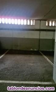 Alquilo parcela garaje