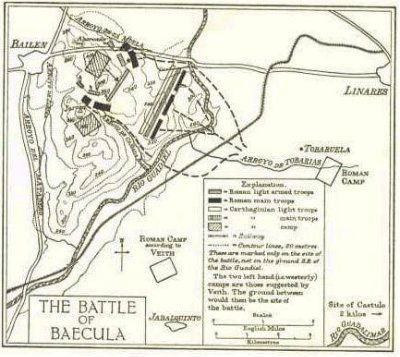 Ii guerra púnica en hispania: ¿dónde está baecula turdetana?