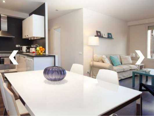 Piso furnished apartment in the center of barcelona, 2