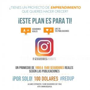 VENTA DE PACKS INSTAGRAM MANTENIMIENTOS WEB