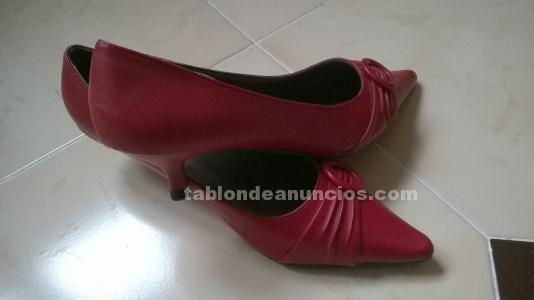Zapatos rojos señora n 38