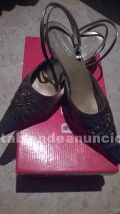 Zapatos de raso de señora número 38